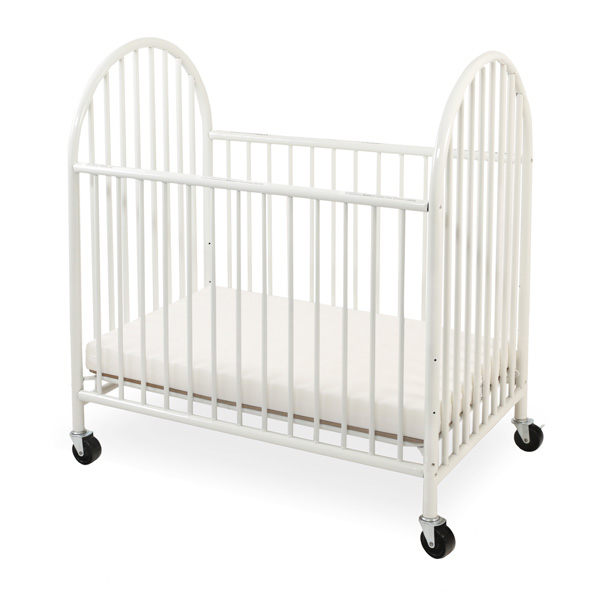 Superieur ... Arched Metal Mini/Portable Crib