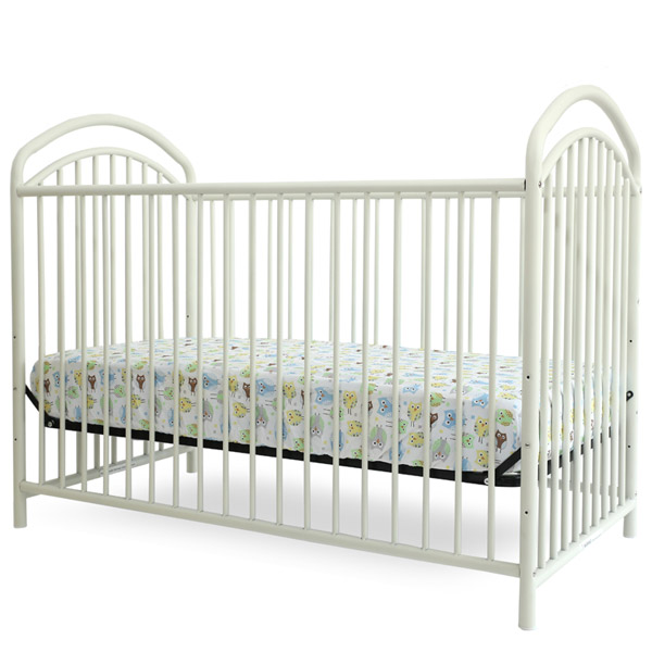 Beau ... The Mariposa 3 In 1 Full Sized Metal Crib